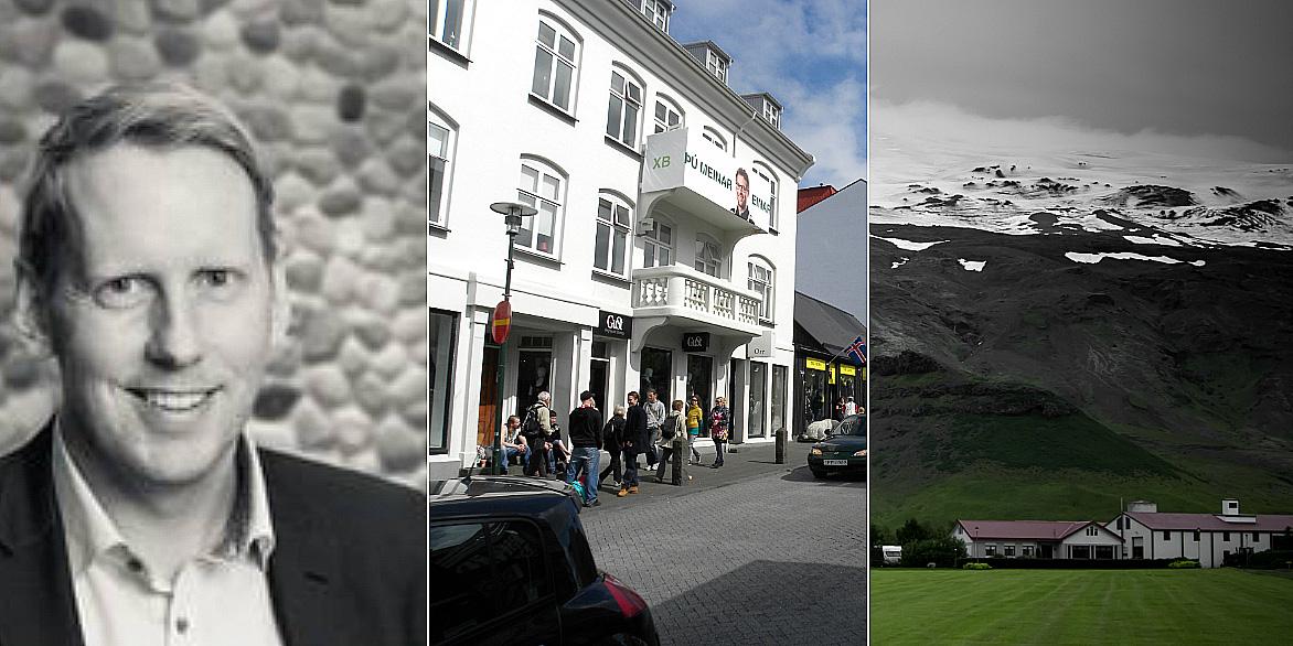 Einar Thorsteinsson guide us throw the Icelandic real estate market.
