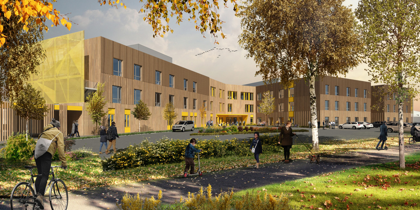 Veidekke signed contract for health building in Verdal.