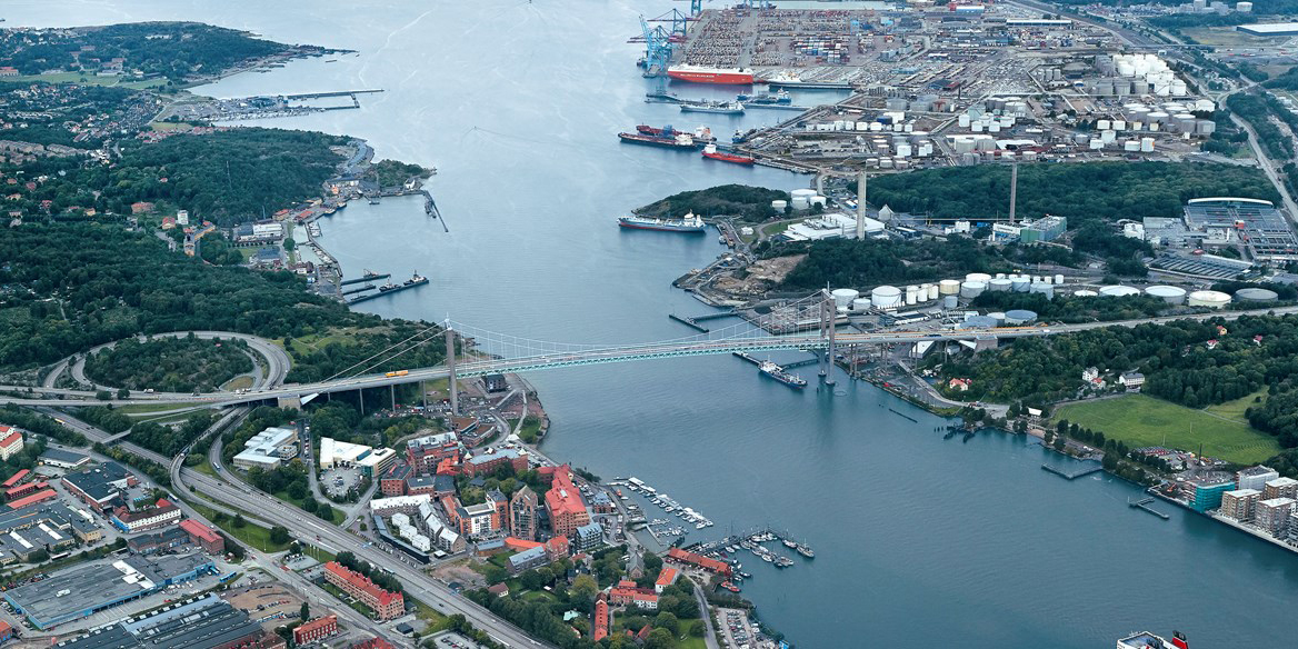 Port of Gothenburg.